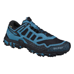 Salewa Ultra Train GTX Løbesko Damer blå/sort